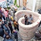 Litomyšl, dvoreček zámeckého pivovaru (14. června - 4. července 2012)