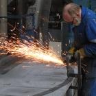 142 Výroba kovového věnce v Zámečnictví Kavka v Říčanech 2.2. 2012