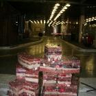 158 Sestavování srdce v podzemních garážích ND 5.-8.2. 2012