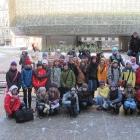 164 Školáci z Uhlířských Janovic vyčistili piazzetu od sněhu