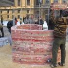 170 Navlékání dílů na závitové tyče 10.2. 2012
