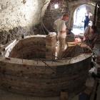 sklepení hradu Grabštejn (19. července - 16. prosince 2012)