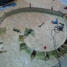 038 Nivelace podkladové desky a výroba formy pro Srdce 18.-19.1. 2012